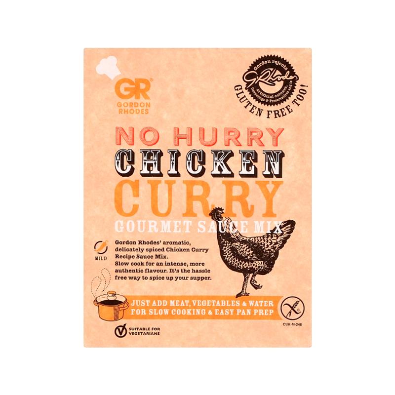 Gordon Rhodes Chicken Curry Gourmet Sauce