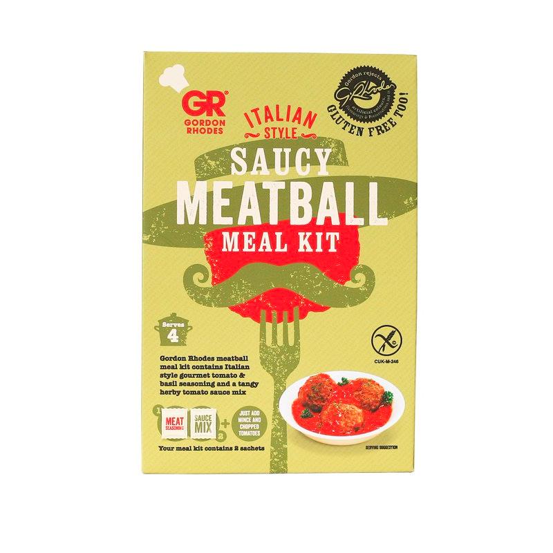 Gordon Rhodes Italian Style Meatball Kit
