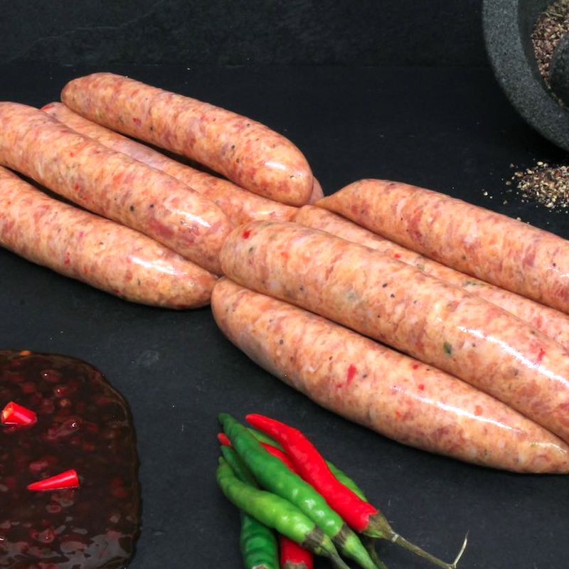 Pork & Sweet Chilli Sausages
