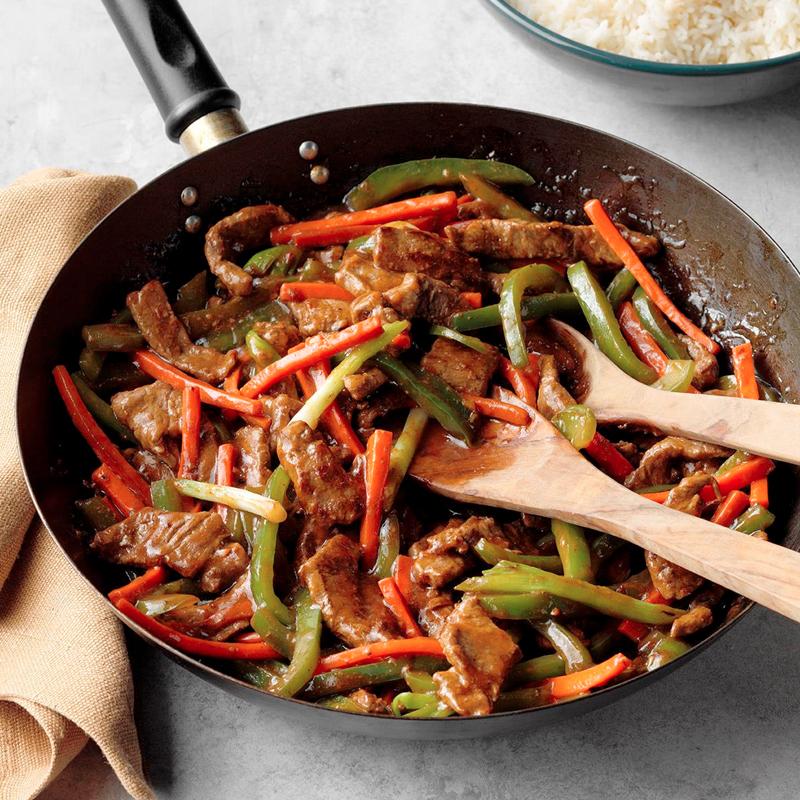 Salt & Pepper Beef Stir Fry
