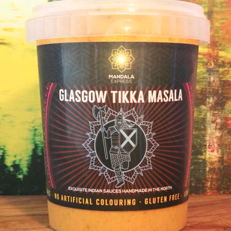 Mandala Express Glasgow Tikka Masala
