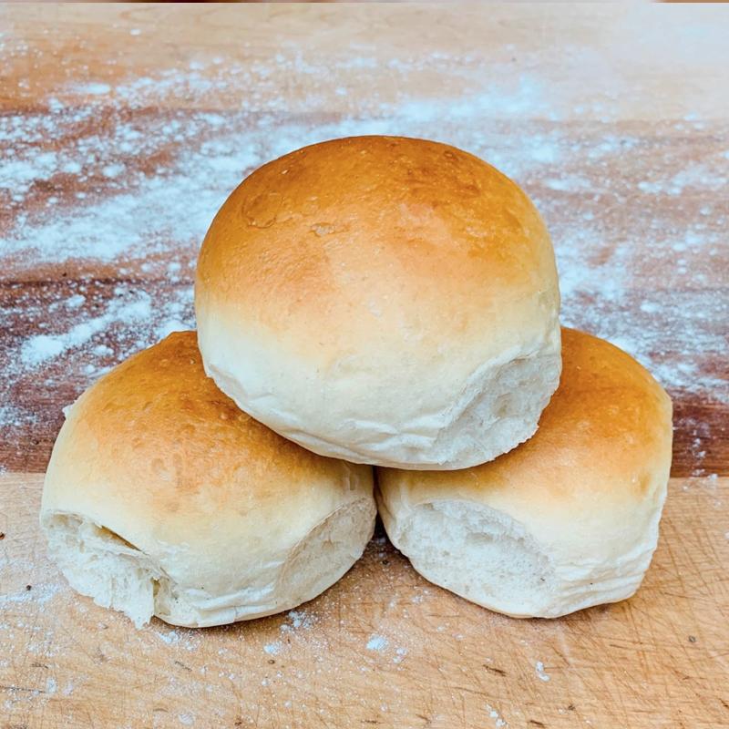 White Bread Buns/Baps