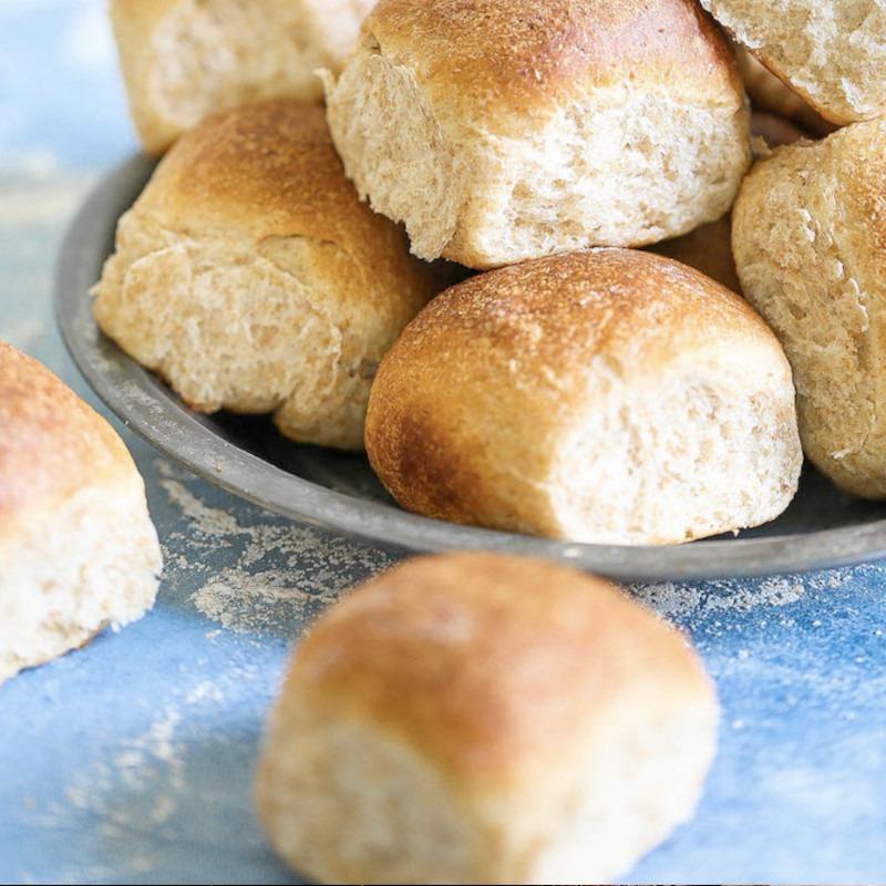 Brown Bread Buns/Baps