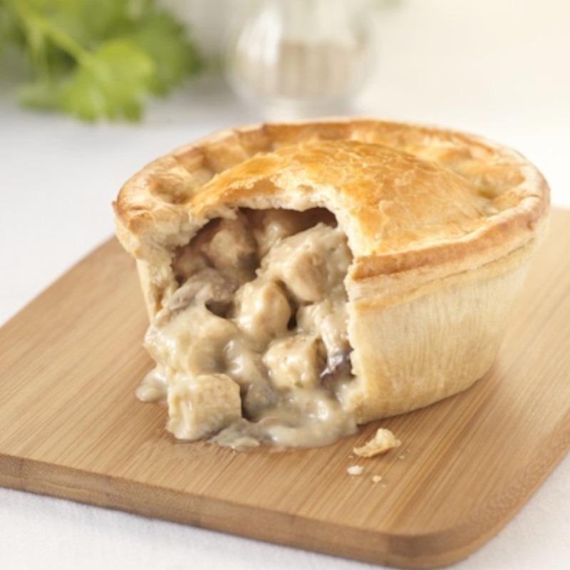 Small Chicken & Mushroom Pie